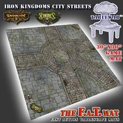 30X30 Iron Kingdoms City Streets F.A.T. Mat