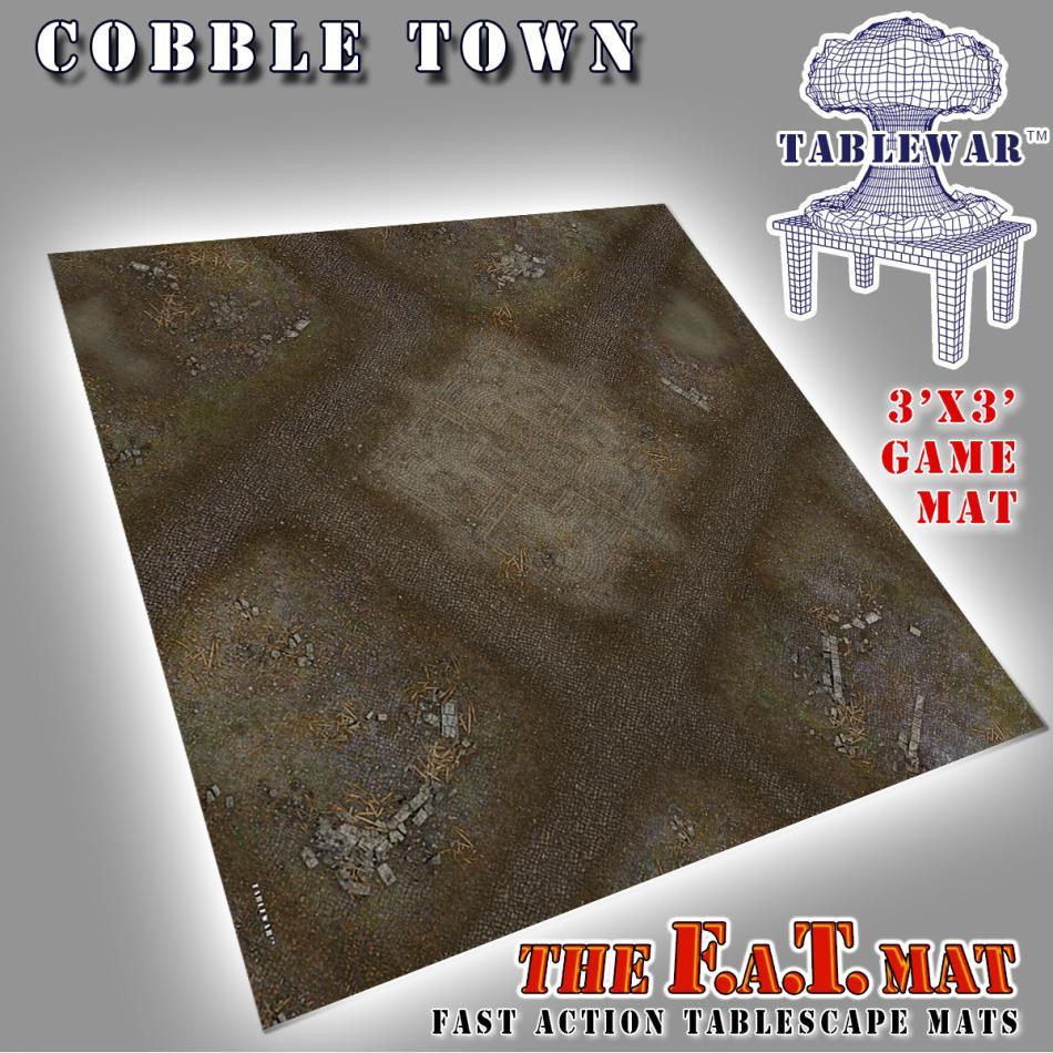 3x3 CobbleTown F.A.T. Mat
