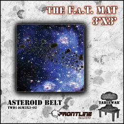 3X3 Asteroid Belt F.A.T. Mat