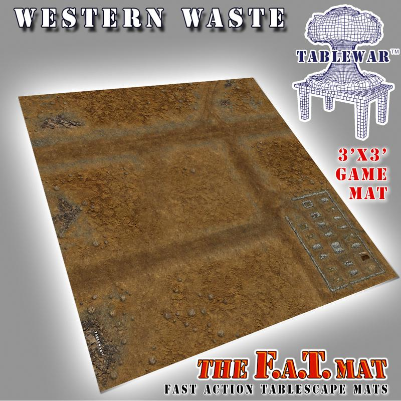 3x3 Western Waste F.A.T. Mat