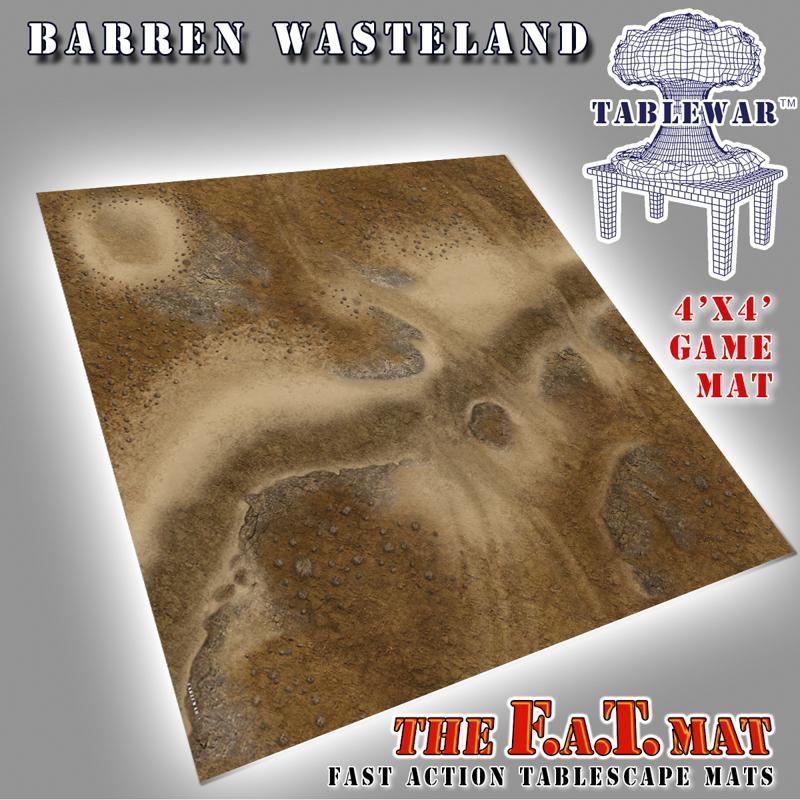 4x4 Barren Wasteland F.A.T. Mat
