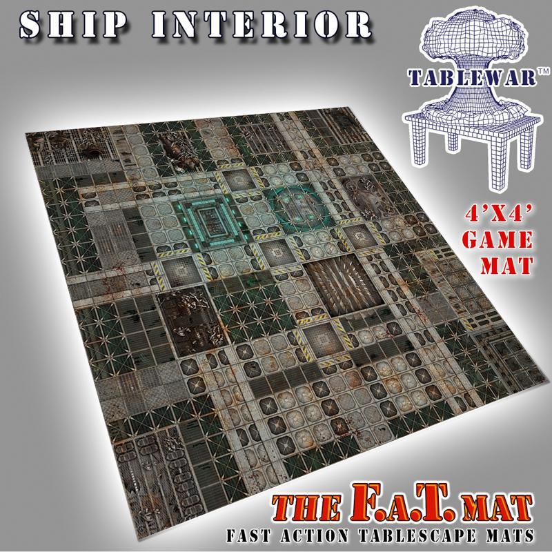 4X4 Ship Interior F.A.T. Mat