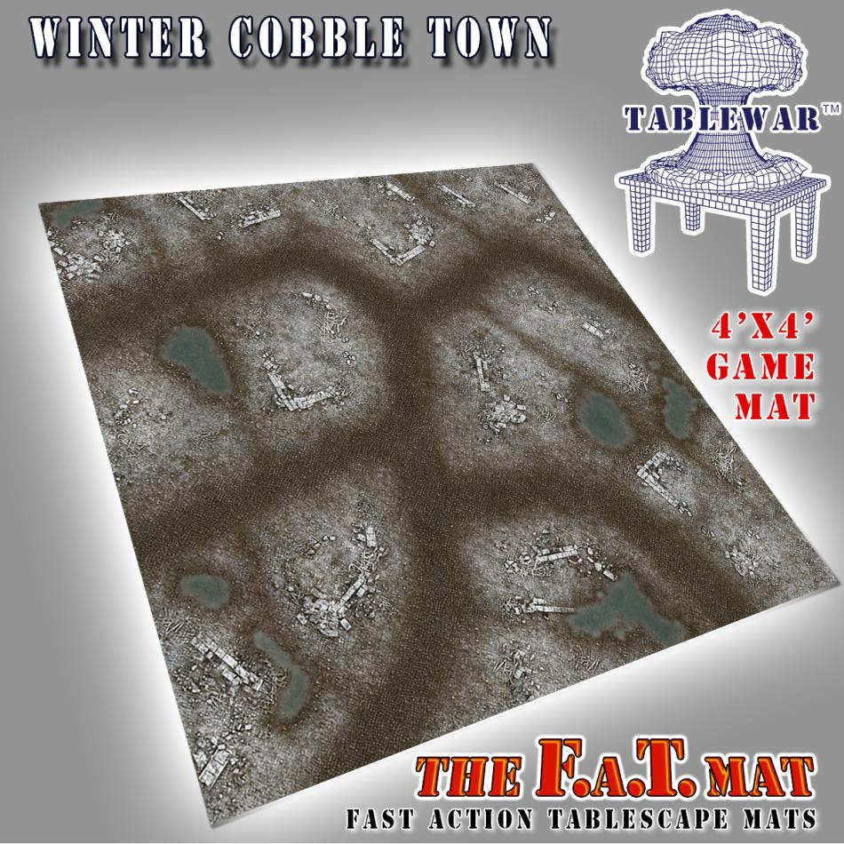 4x4 Winter CobbleTown F.A.T. Mat