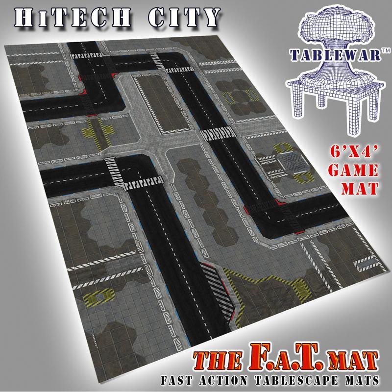 6X4 Hitech City F.A.T. Mat