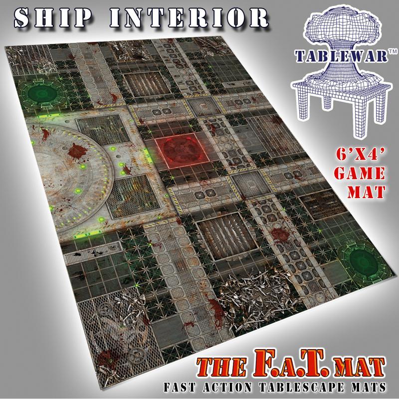 6X4 Ship Interior F.A.T. Mat