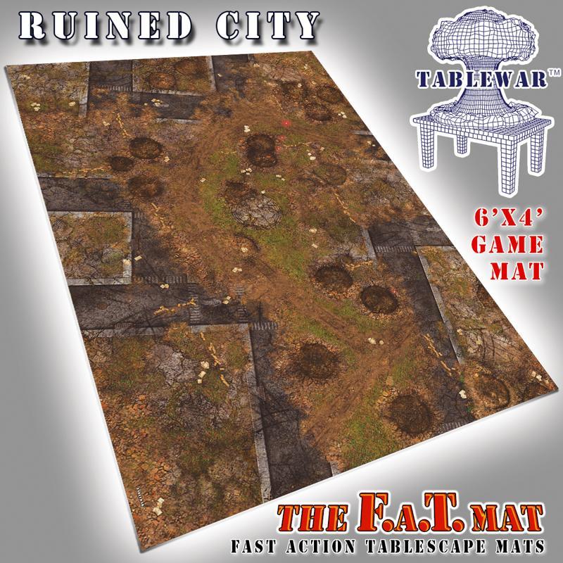 6X4 Ruined City F.A.T. Mat
