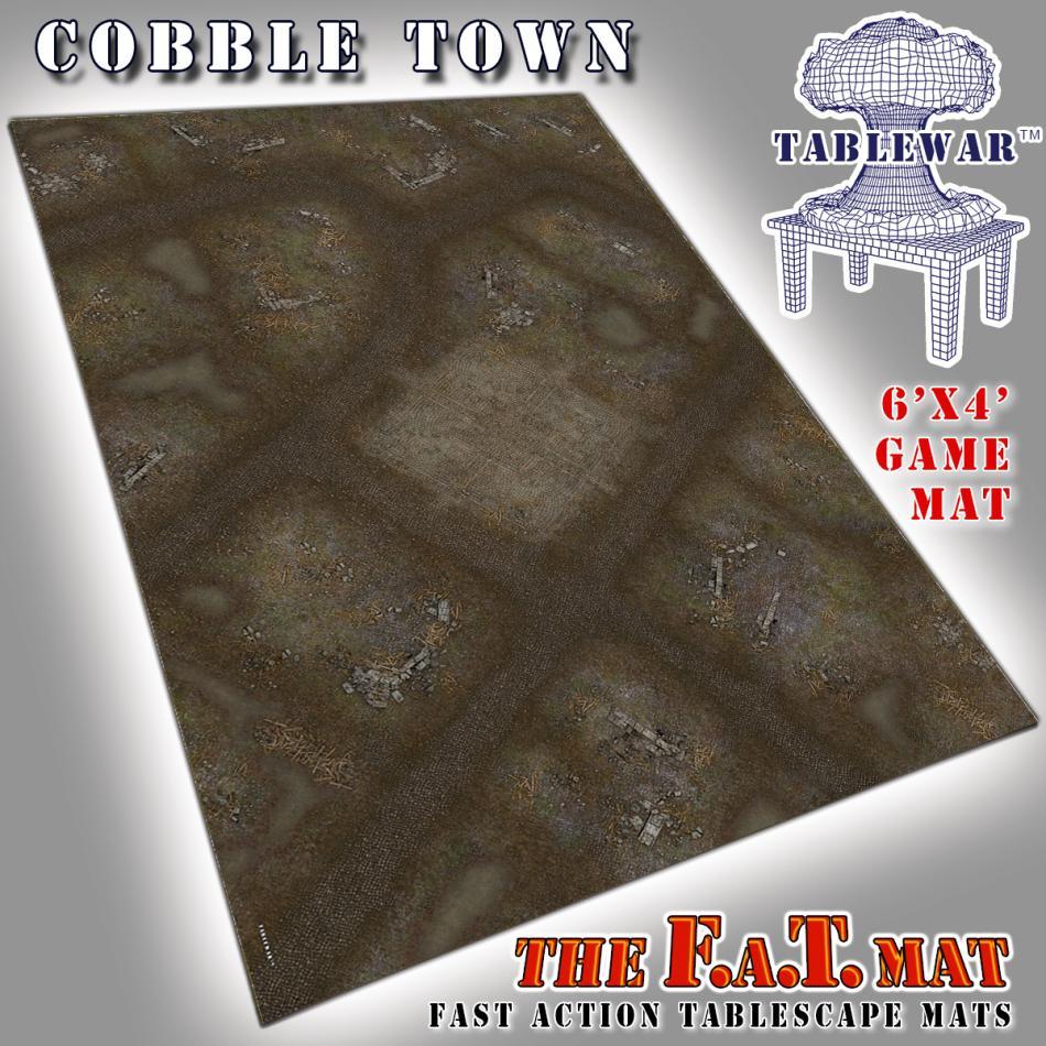 6x4 CobbleTown F.A.T. Mat