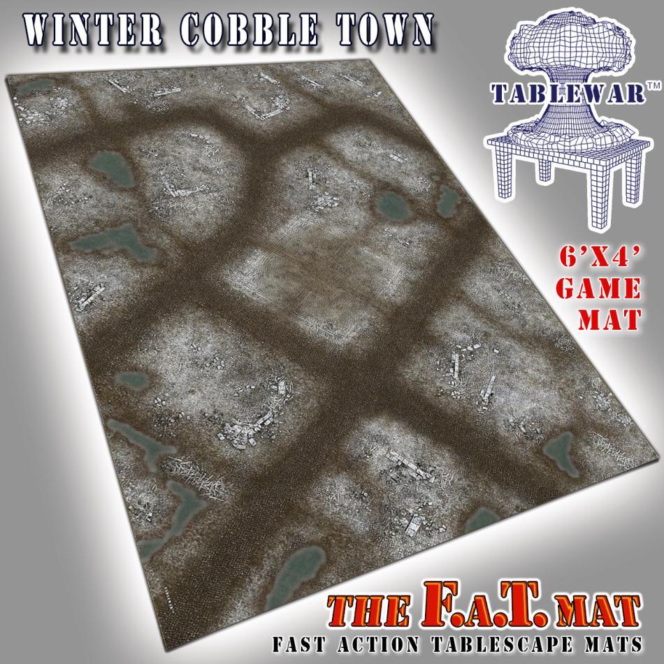 6x4 Winter CobbleTown F.A.T. Mat