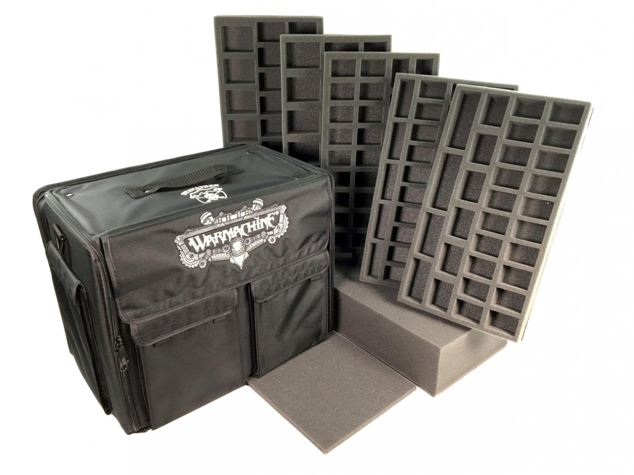 Privateer Press Warmachine Bag Medium and Large Model Army Load Out (Black)