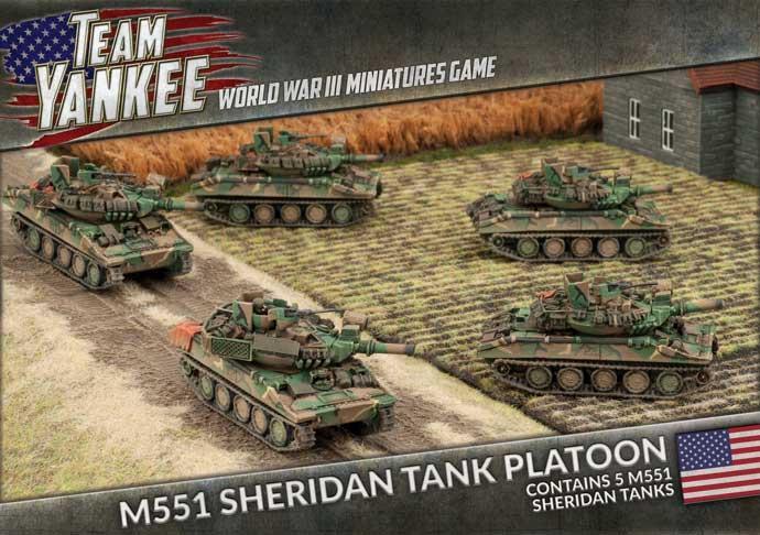 M551 Sheridan Tank Platoon (x2)
