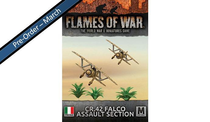 Italian Falco CR42 Flight (x2)