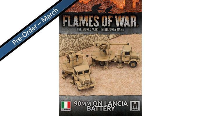 Italian Heavy AA Platoon (x2 90/53 Lancia)