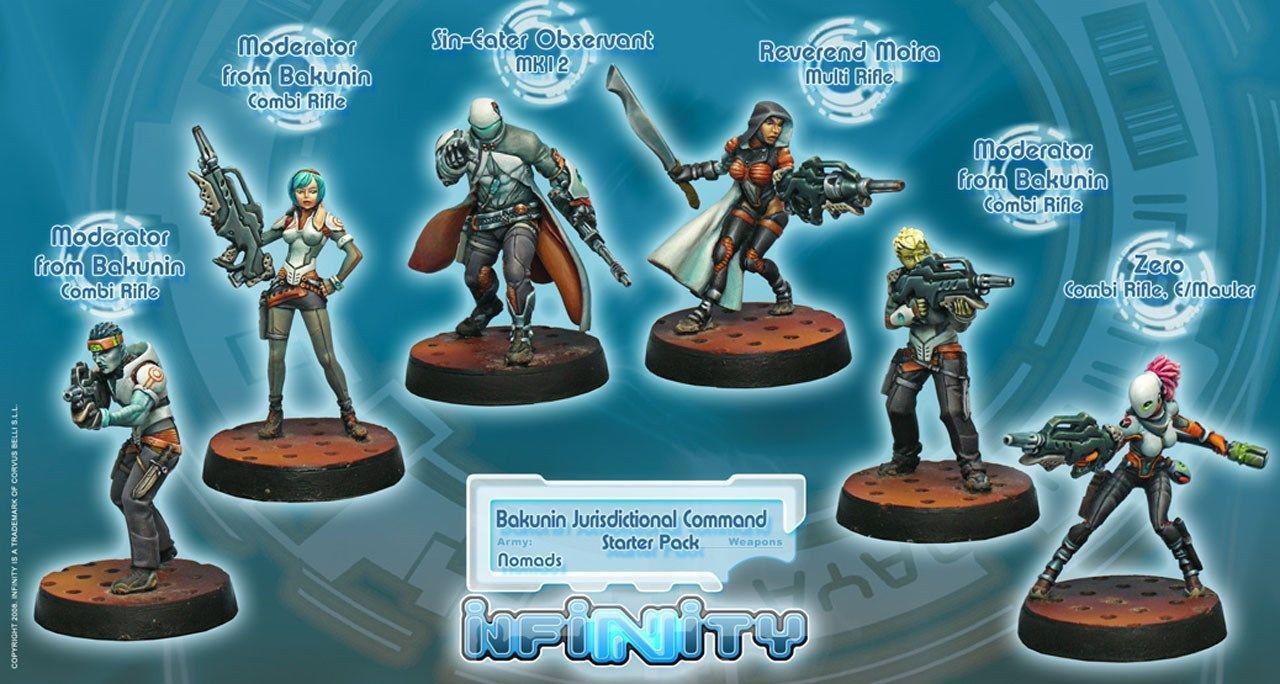 Bakunin Jurisdictional Force Nomads Sectorial Starter Pack