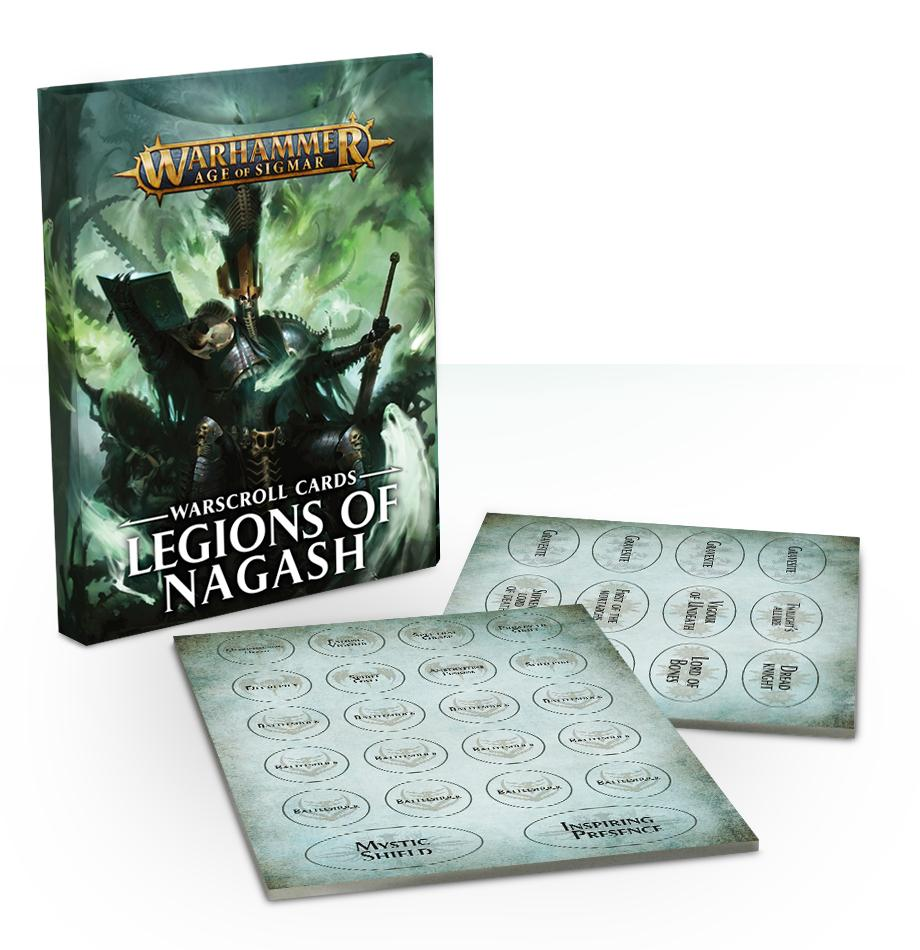 Warscroll Cards: Legions Of Nagash (English)