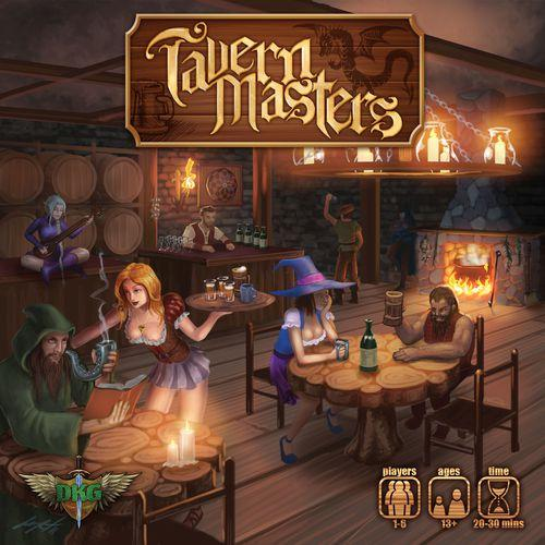 Tavern Masters (Boxed Card Game)