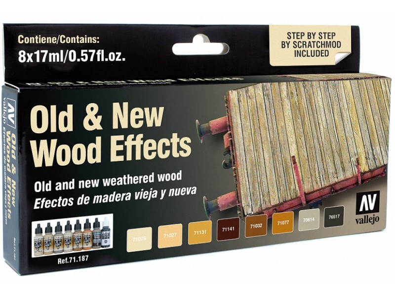 Model Air Set - Old & New Wood Effects