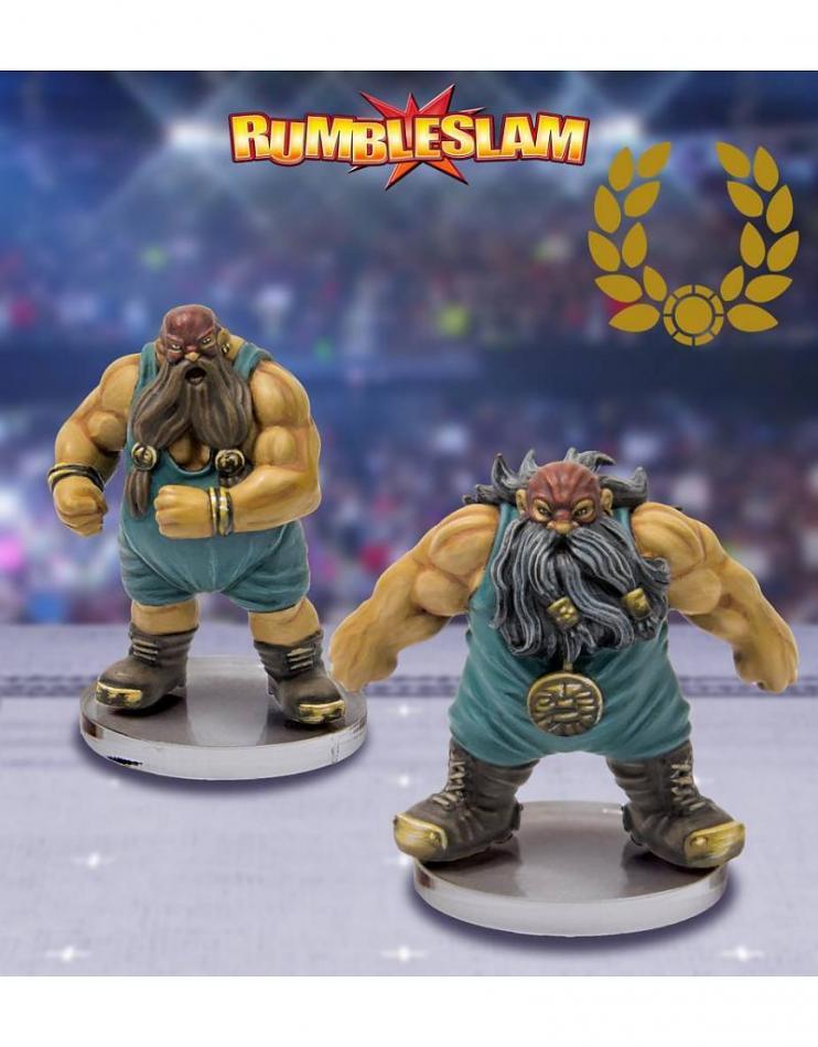 Dwarf Brawler & Dwarf Grappler