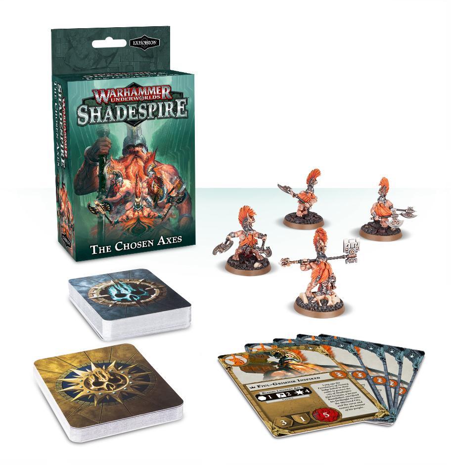 Warhammer Underworlds: Shadespire The Chosen Axes