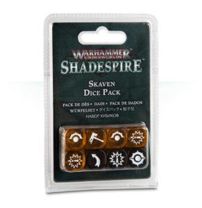 Warhammer Underworlds: Shadespire Skaven Dice Pack