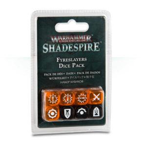 Warhammer Underworlds: Shadespire Fyreslayers Dice
