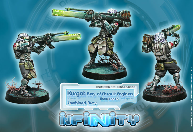 Kurgat Reg of Assault Engineers Autocannon