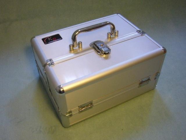 Small Aluminium Case - Half Width (Silver)