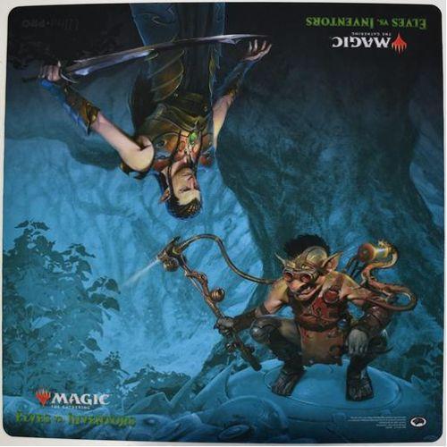 MTG Elves vs Inventors  Playmat (24x24)