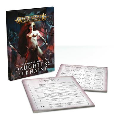 Warscroll Cards: Daughters of Khaine (English)