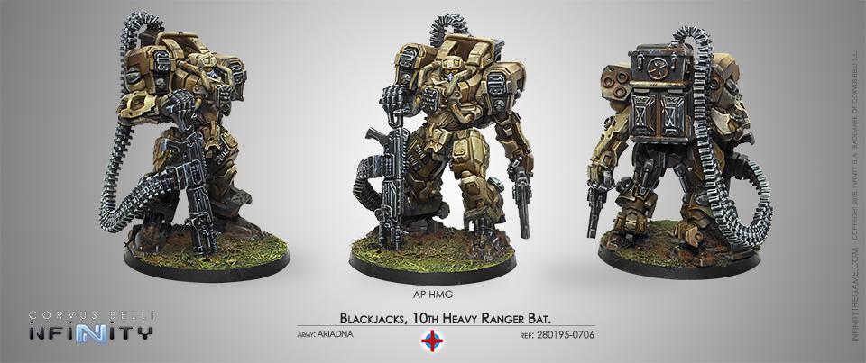 Blackjacks, 10th Heavy Ranger Bat. (AP HMG)