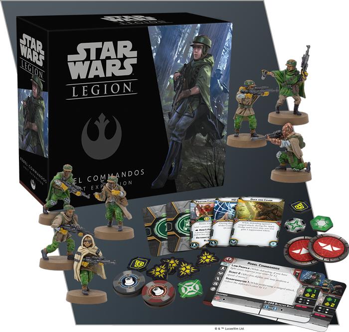 Rebel Commandos Unit Expansion