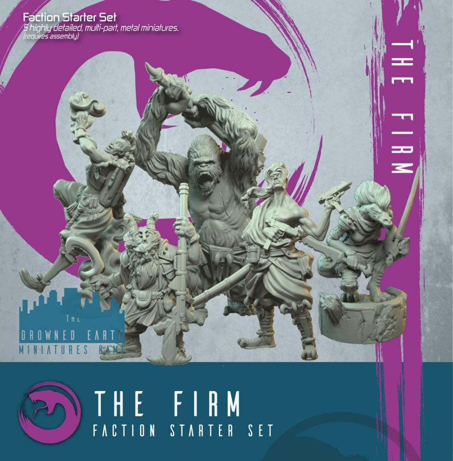 Firm Starter Set (5 minis)