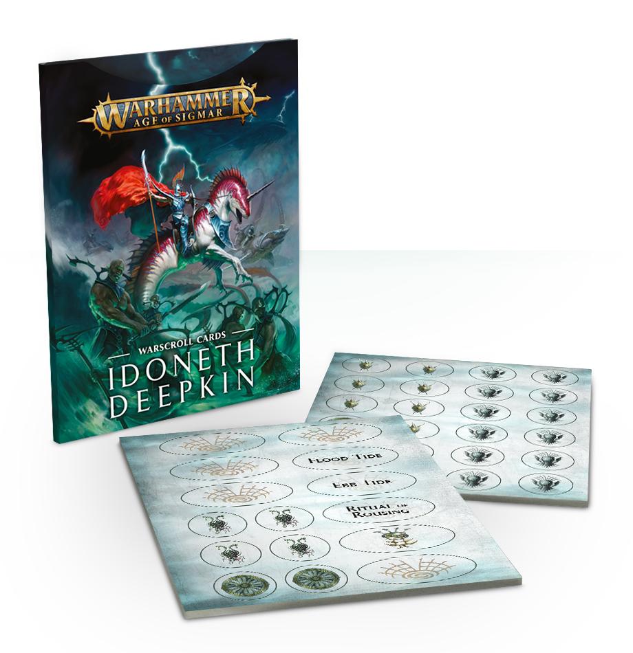 Warscroll Cards: Idoneth Deepkin (English)