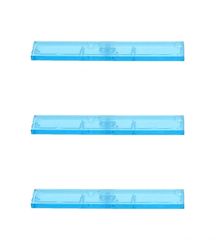 Element Essentials 3 Inch Acrylic Measuring Stick (Pack of 3)