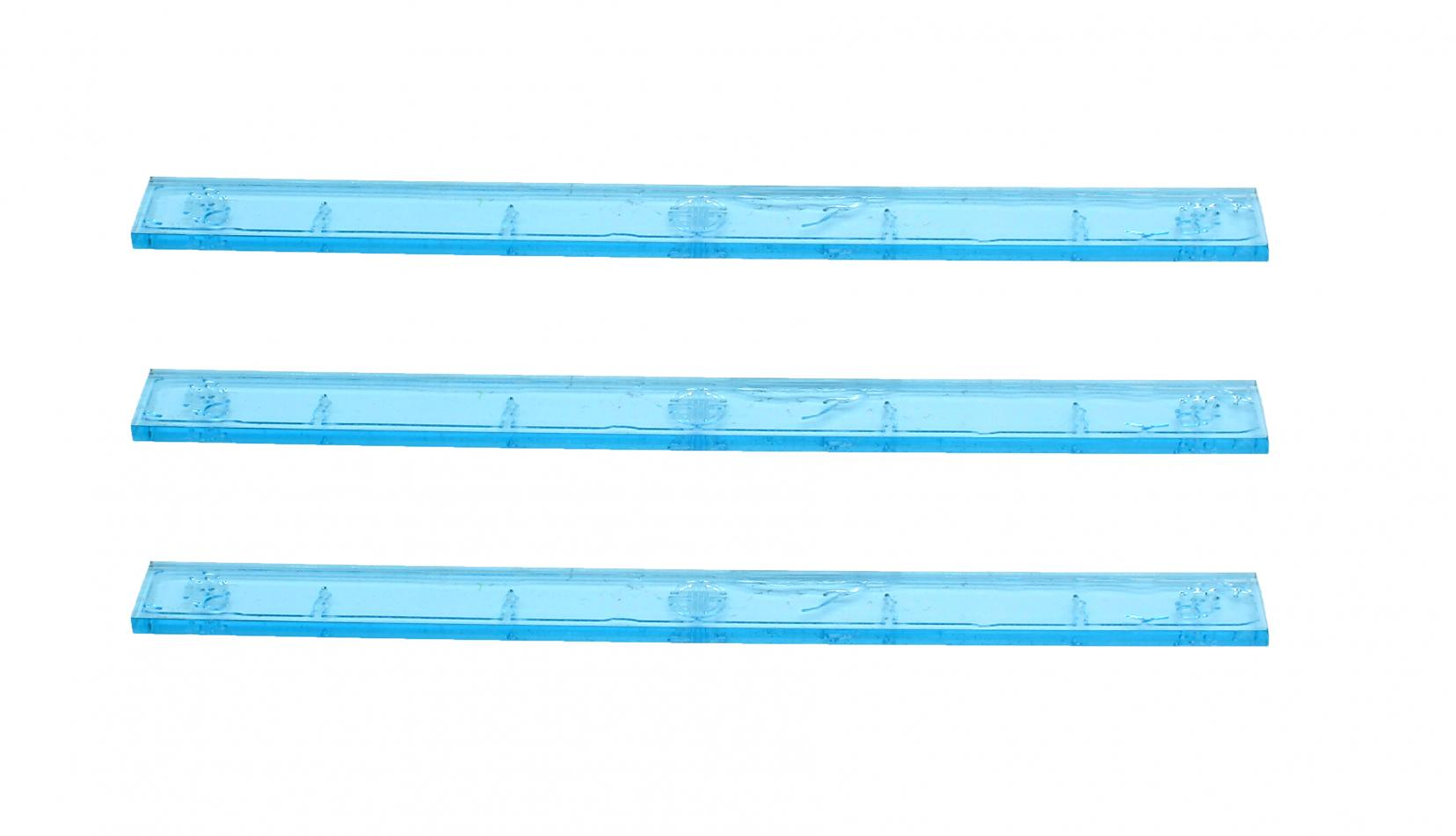 Element Essentials 6 Inch Acrylic Measuring Stick (Pack of 3)