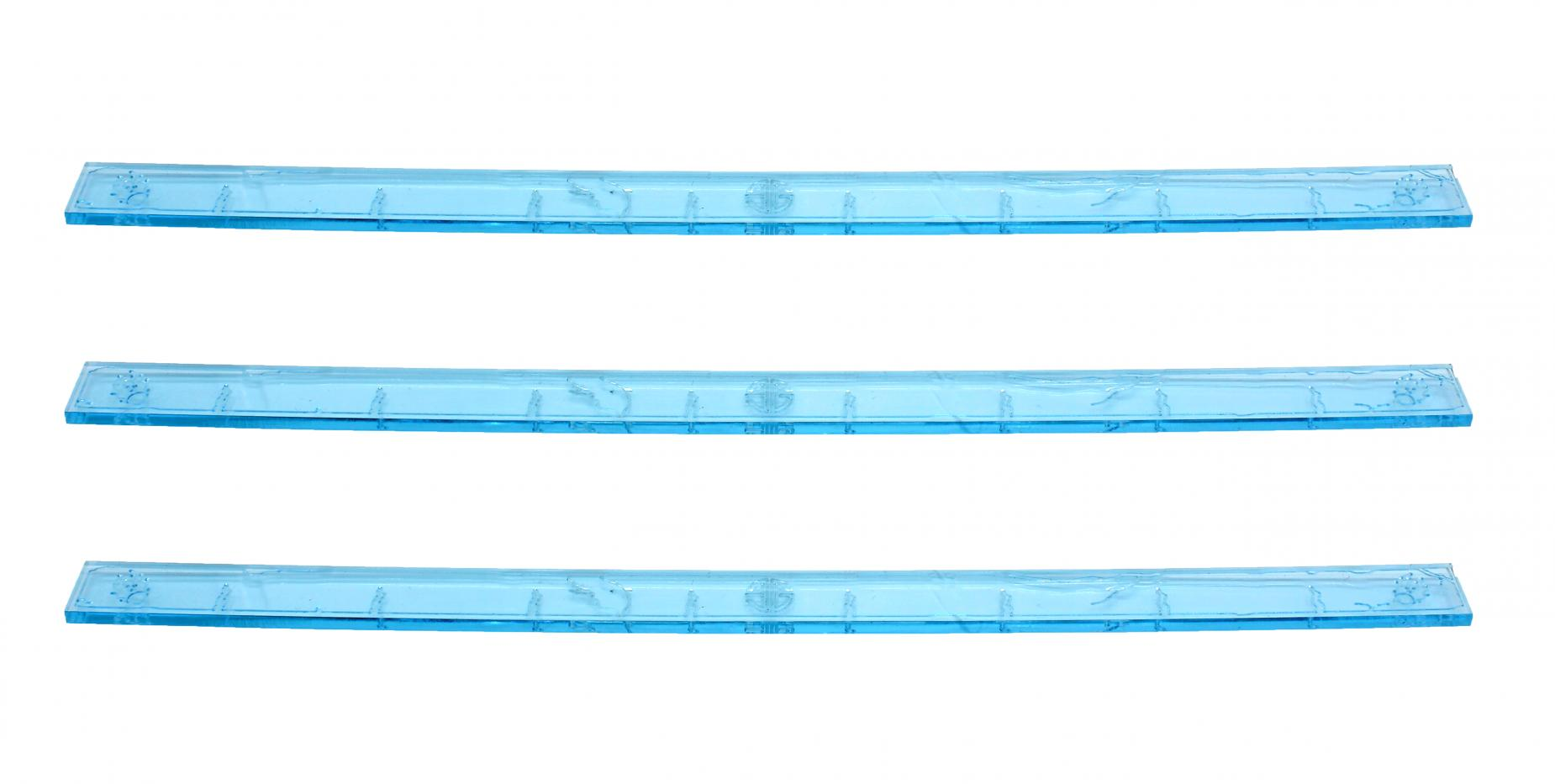 Element Essentials 9 Inch Acrylic Measuring Stick (Pack of 3)