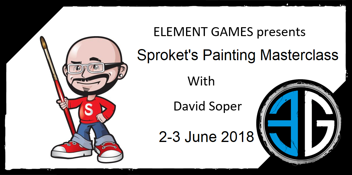 Sproket's Painting Masterclass 2018