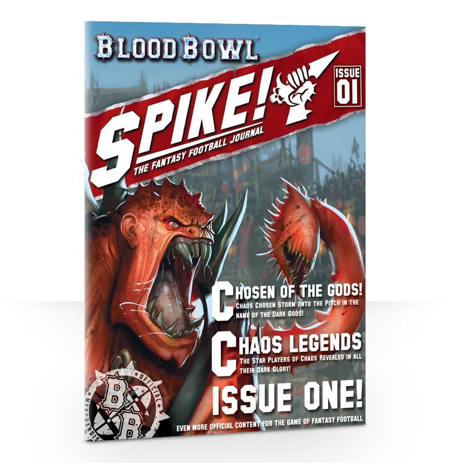 Spike! Journal: Chaos Chosen (English)