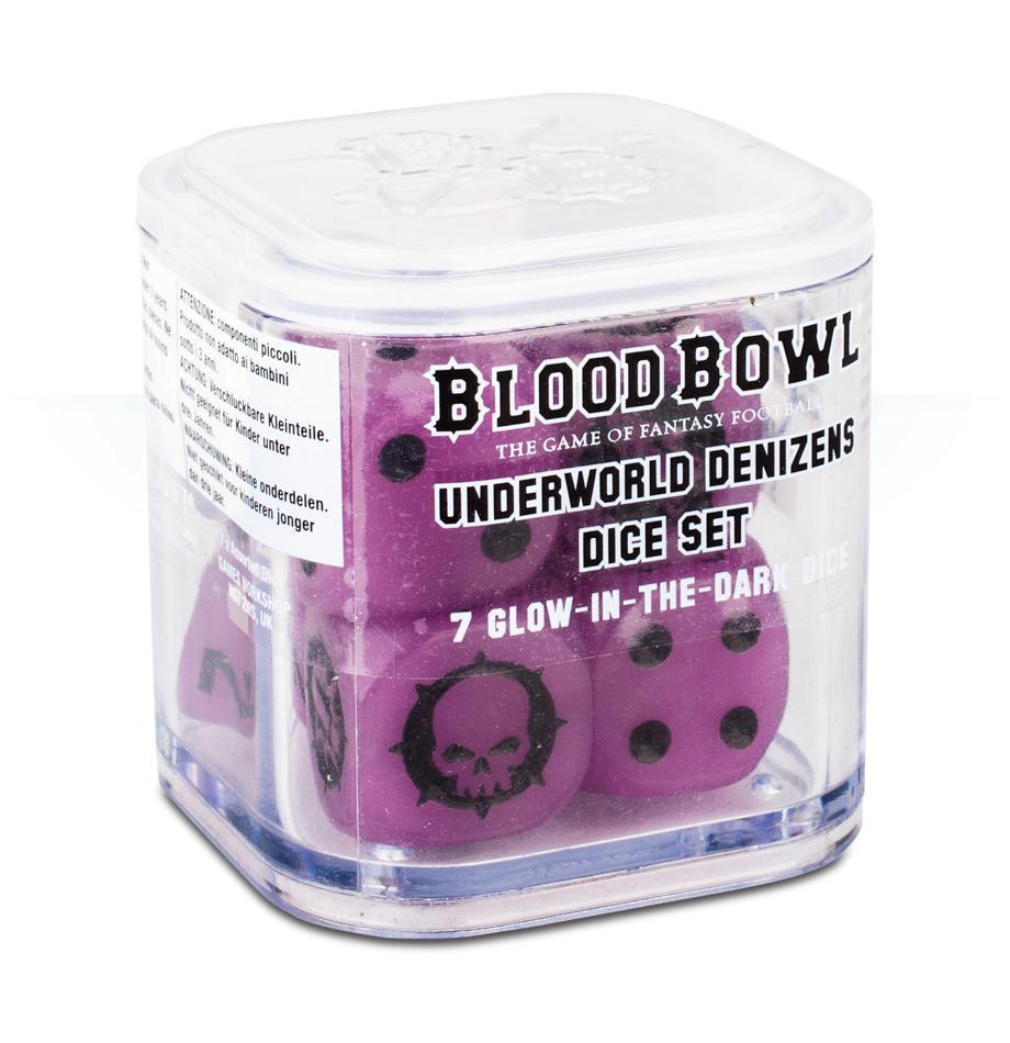 Blood Bowl Underworld Denizens Dice