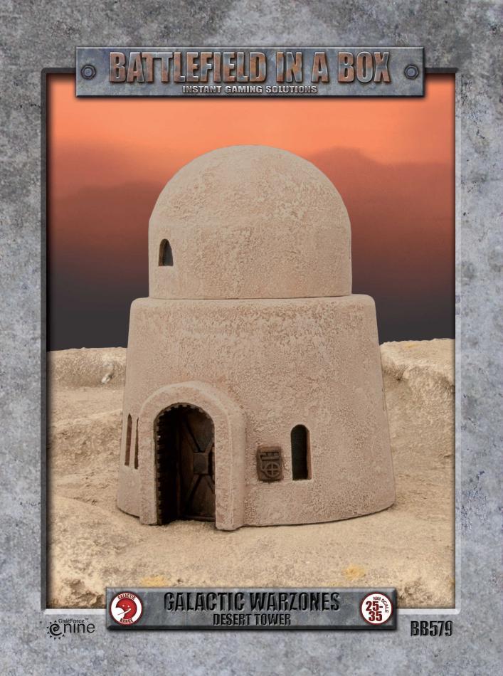 Galactic Warzones - Desert Tower