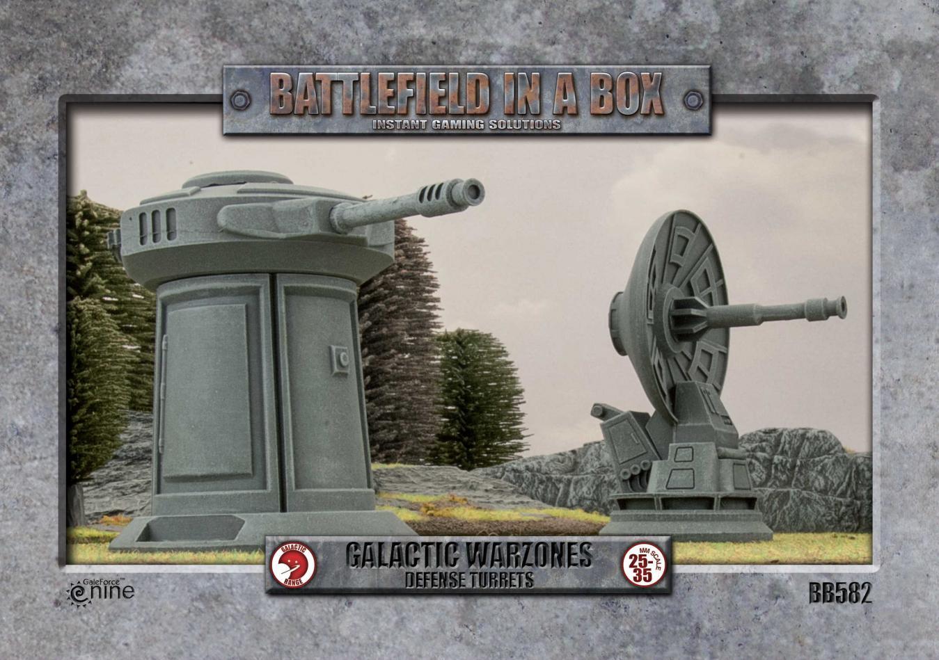 Galactic Warzones - Defense Turrets (x2)