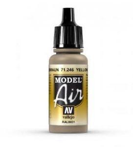 Model Air  - Yellow Brown