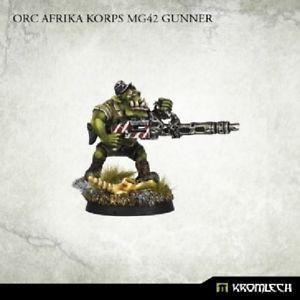 Orc Africa Korps MG42 Gunner