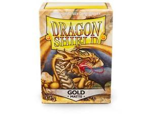 Dragon Shield Sleeves Matte Gold (100)