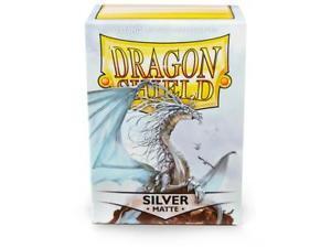 Dragon Shield Sleeves Matte Silver (100)