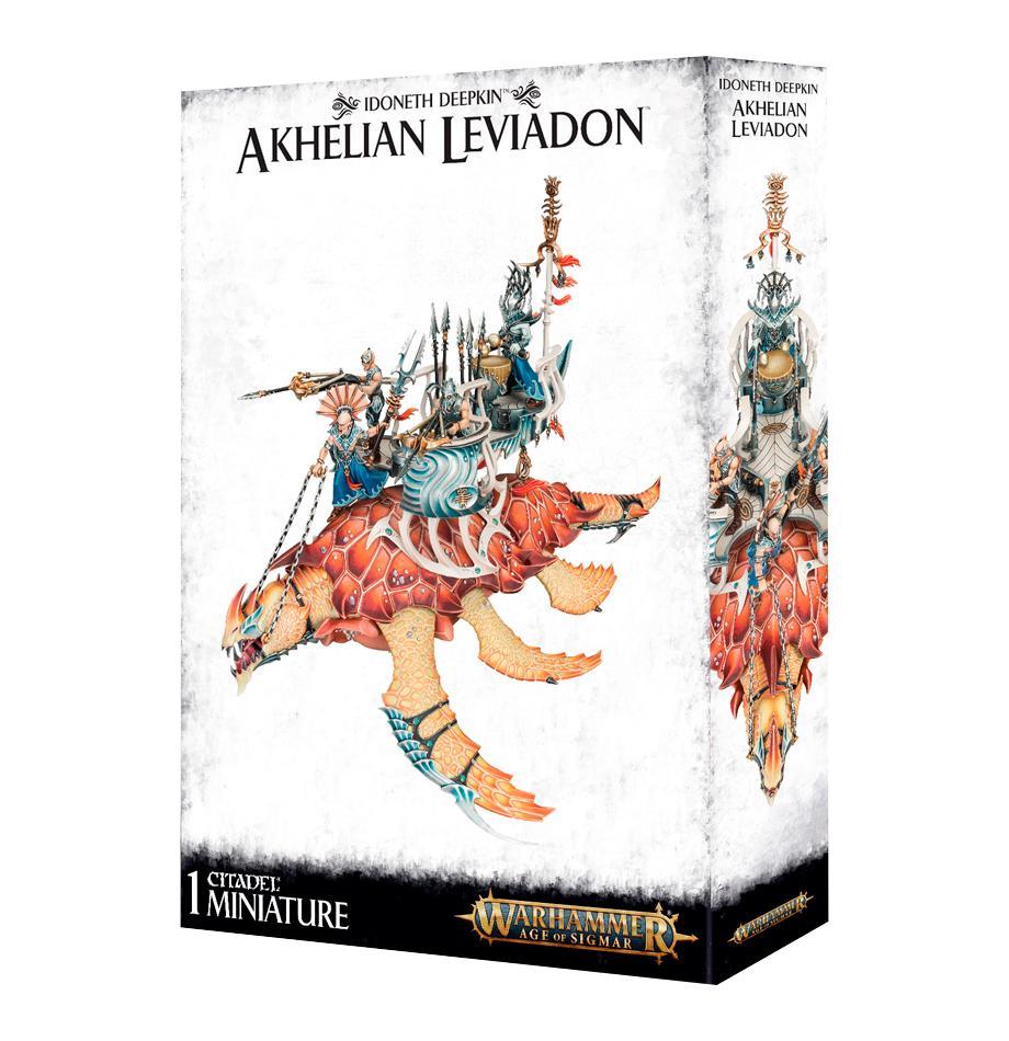 Idoneth Deepkin: Akhelian Leviadon