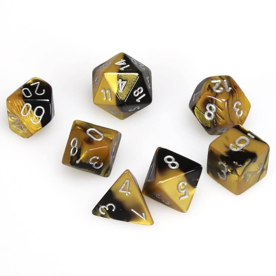 Gemini Poly 7 Set: Black-Gold/Silver