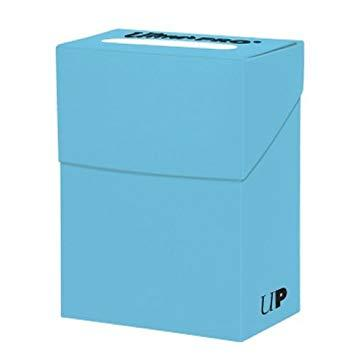Solid Light Blue Deck Box