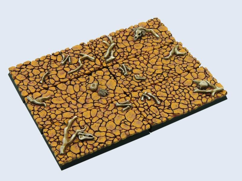 Wasteland Bases, Cavalry 25x50mm (4)