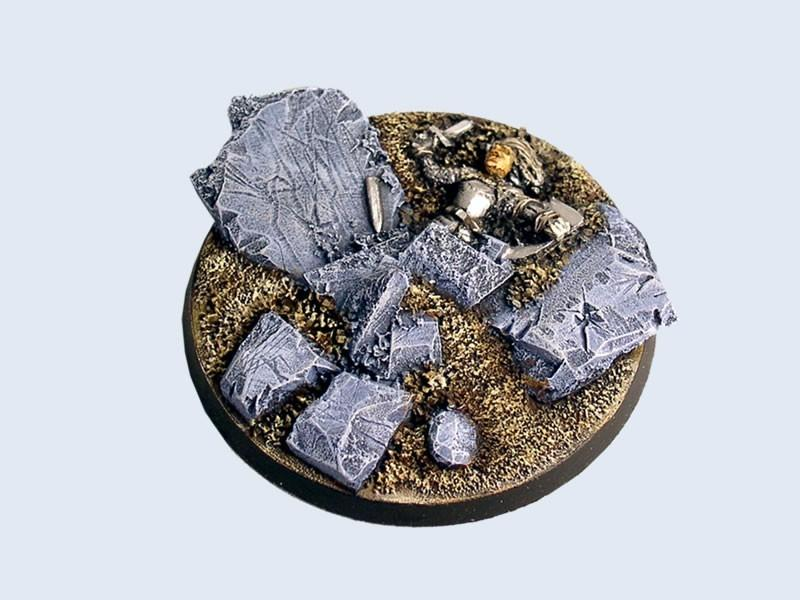 Ruins Bases, Round 60mm #3 (1)