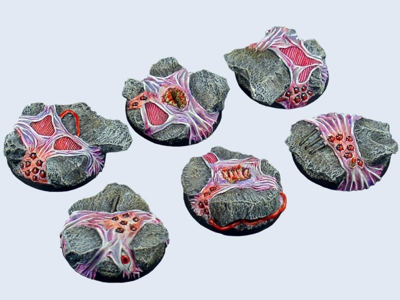 Infested Bases, Round 40mm (2)